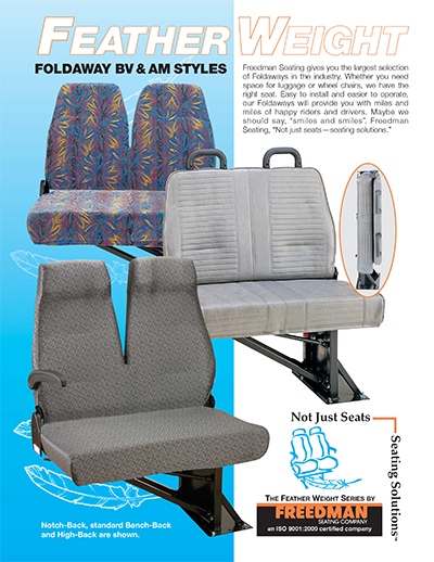 Feather Weight Foldaway Seats